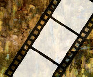 Old film. Vintage old film background texture Stock Photos