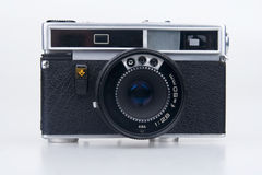 Old film camera. Royalty Free Stock Photography