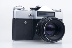 Old film camera. Stock Image