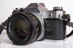 Old film camera Stock Photos