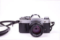 Old film camera Royalty Free Stock Image