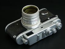 Old film camera Stock Photography