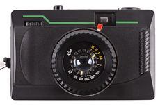 Old film camera Stock Images