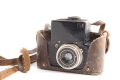 Old film camera Royalty Free Stock Images