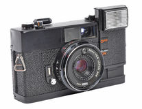 Old film camera Stock Photo