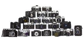 Old film camera Royalty Free Stock Photo