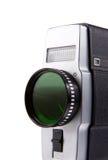 Old film camera isolated on white Stock Image