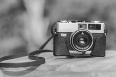 Old film camera Royalty Free Stock Photos