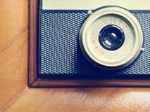 Old film camera. Stock Photos