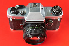 Old film cameras Stock Images
