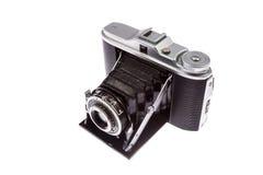 Old film folding camera Royalty Free Stock Photo