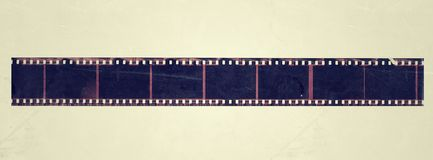 Old Film Frame grunge vintage. Dirty old Movie Film Frame. with effect Grunge old film strip background with notes. white background perfect for print Tiff royalty free illustration