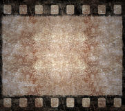 Old Film Negative Frame - Grunge Background Stock Photos