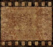Old Film Negative Frame - Grunge Background. Single Old 35mm Film Negative Frame, Space For Own Picture Or Text, Grunge Background Royalty Free Stock Photo