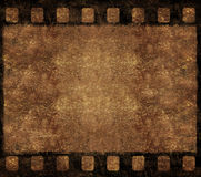 Old Film Negative Frame - Grunge Background. Single Old 35mm Film Negative Frame, Space For Own Picture Or Text, Grunge Background Royalty Free Stock Photos