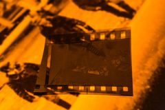Old film negative stock images