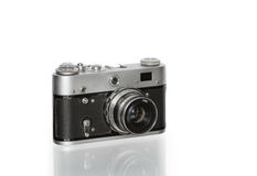 Old Film Photo Camera Royalty Free Stock Photography