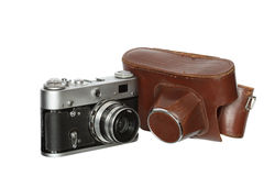 Old Film Photo Camera Stock Photos