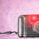 An old film plastic camera Stock Images