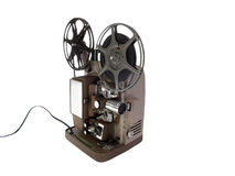 Old Film Projector. Vintage 8 mm Film Projector in mint condition Royalty Free Stock Photography