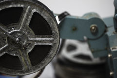Old Film projector stock image