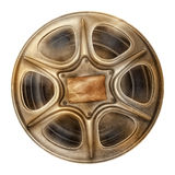 Old film reel. Old movie reel with film Royalty Free Stock Photo