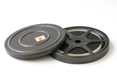 Old film reel Stock Images
