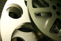 Old Film Reels Stock Image