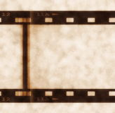 Old film roll background Royalty Free Stock Photos
