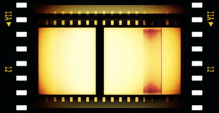 Old film roll background Stock Photography