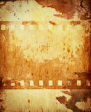 Old film roll background Stock Photos