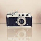Old film slr camera. USSR Stock Photo