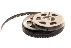 Old film with spool Royalty Free Stock Photography