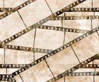 Old film strip Royalty Free Stock Photo