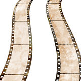Old film strip. With some spots Stock Images