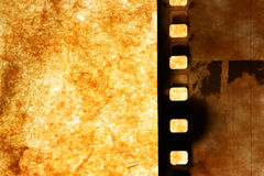 Old film strip Royalty Free Stock Photography