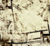 Old film strip background. Texture Royalty Free Stock Photography