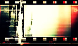 Old film strip background Stock Images