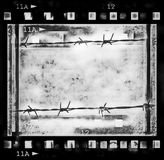 Old film strip. Background, texture Royalty Free Stock Image