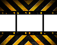 Old film strip on the danger Royalty Free Stock Image