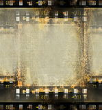 Film strip frame background. Old film strip frame background Stock Photography