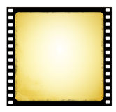 Old film strip in grunge style. Image of the old film strip in grunge style Royalty Free Stock Images