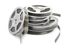 Old film strip Royalty Free Stock Photo