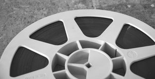 Old filming disk Royalty Free Stock Image