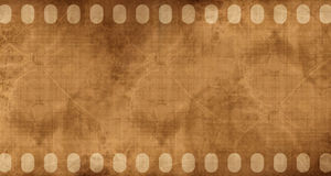 Old filmstrip Stock Photos