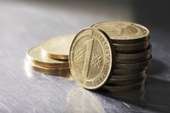 Old Finnish Coins Stock Photography