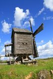 Finland, Savonia: Old Windmill Royalty Free Stock Photography