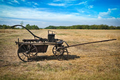 Old fire cart Royalty Free Stock Photos