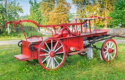 Old fire cart Royalty Free Stock Photo