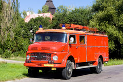 Old fire engine Stock Image